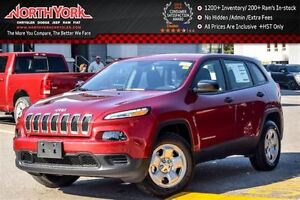 2017 Jeep Cherokee NEW Car Sport|4x4|Cold Wthr Pkg|RearCam|Htd F