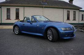 BMW Z3 estoril sport leather interior BMW alloys