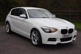 2012 (62) White BMW 1 Series - M Sport Upgrade Bumper & Alloys