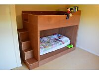 Handmade Super Size Kids Bunk Bed Double