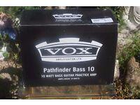 NEW VOX PATHFINDER BASS 10