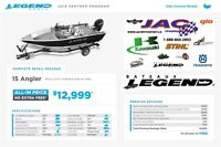 2016 Legend Boats Ltd 15 Angler Mercury 25 EL **Premium package