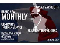UK<>France Trunker Service