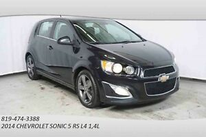 2014 CHEVROLET SONIC 5 RS