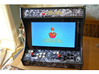 "Retro Bartop Arcade - Retropi 27"" screen, 2 player Super nintendo Sega Atari MAME"