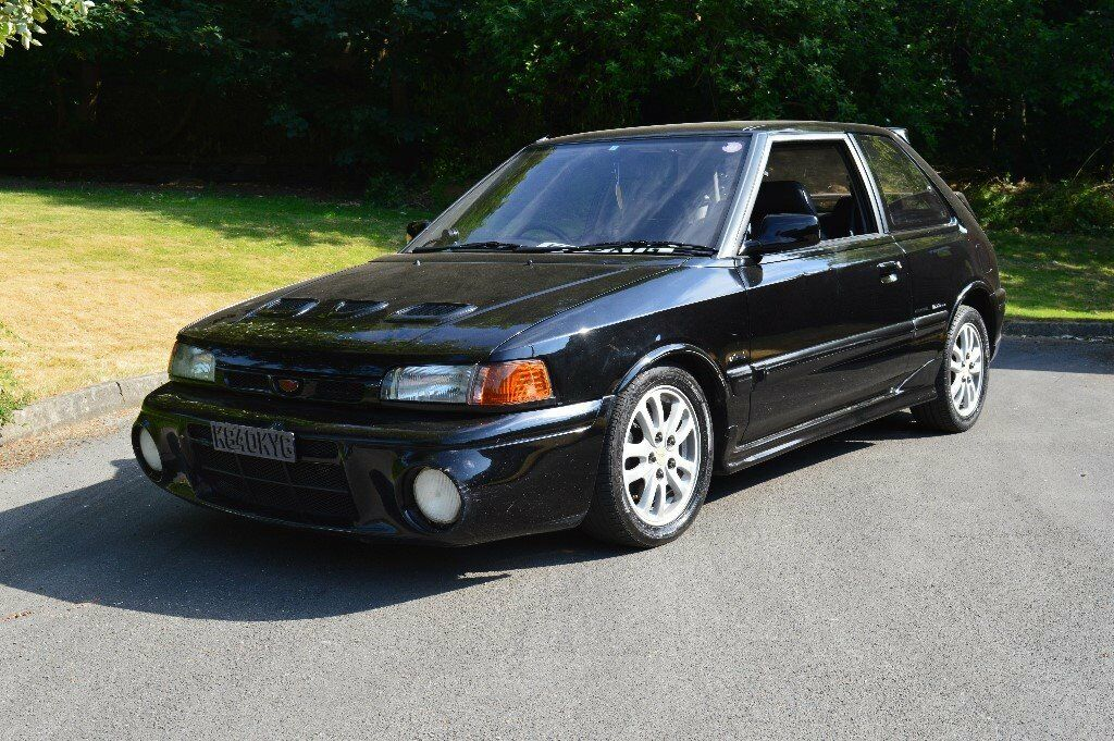 mazda 323 familia gtr turbo 1 8 4wd evo rare in. Black Bedroom Furniture Sets. Home Design Ideas
