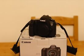 Canon 6D body only in original box + accessoriees - only 35k shutter count, very good condition