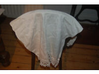 Assorted tableware etc some, vintage,tray cloths, tablecloth & napkins