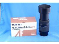 Tamron AF 70-300mm f/4-5.6 Di LD Macro (Sony AF) also fits Minolta AF