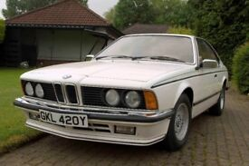 A Great Classic, BMW 635csi. Well maintained, genuine mileage, only used as a second car.