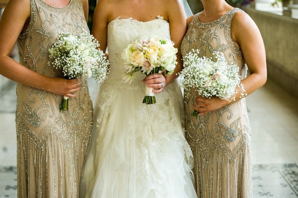 Vera Wang Eliza Wedding Dress **FINAL PRICE £499**
