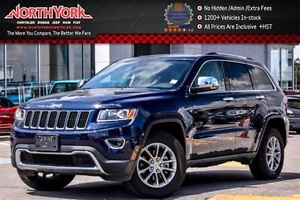 2016 Jeep Grand Cherokee Limited 4x4|Nav|Leather|HTD Seats|Backu