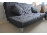 IKEA double sofa bed (grey cover)