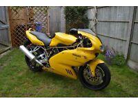 Ducati 900ss i.e., Yellow, Full MoT, ready for summer.