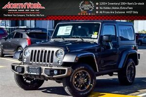 2017 Jeep Wrangler NEW Car 75th Anniversary|4x4|Connect Pkg|Nav|