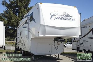 2008 Forest River Cardinal 30WBLE Fifth Wheel