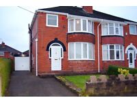 3 bedroom semi-detached house to Rent in Sneyd Green, Stoke-on-Trent.