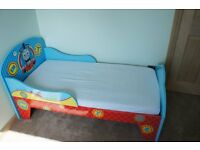 Thomas bed with mattress and chest of drawers please call me 07432735527