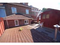 Brand New Studio Flat with private Garden, Shed and Parking Space