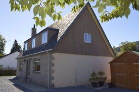 HOUSE FOR SALE (MAY RENT) - Blair Atholl, PITLOCHRY New refurb £45,000 spent, 4 bed, 3 bath + attic