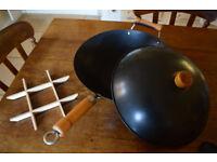 Vintage wok
