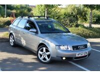 """Audi A4 1.9TDI S Line PD130 6 Speed 2 Owner Full Service Leather Xenon Bose 17"""" Alloys"""