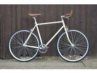 Hackney Club single speed fixed gear fixie road bike/ bicycles + 1year warranty & free service qqo