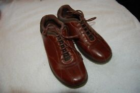 Several pairs of mens leather shoes £10 each Size 7/7H wide