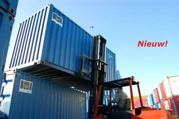 Nieuwe containers af depot