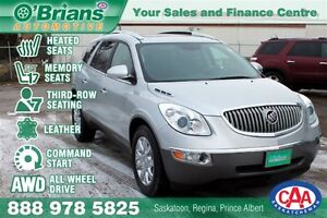 2011 Buick Enclave CXL - AWD 7PASS Lthr Cmd Start