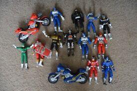 Power Rangers Figures Bundle