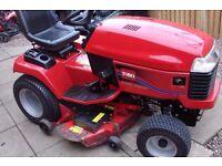 wheelhorse toro ride on tractor model 520xi 20hp kohler v twin engine 48 inch
