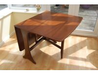 G Plan retro dining table and chairs