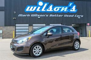2014 Kia Rio LX+ $43/WK, 4.74% ZERO DOWN!  HATCHBACK! HEATED SE