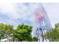 1 Bedroom Flat in Saffron Tower, Croydon, 24 Hour Concierge, Residents Fitness Suite and Lounge