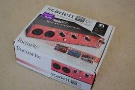 Focusrite Scarlett 8i6 Audio Interface