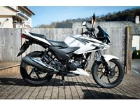 Honda CBF 125 2015 Only 165 Miles from New