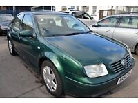 Volkswagen BORA 2001 In Immaculate condition FULL SERVICE HISTORY 1 YEAR MOT Until MARCH 2018