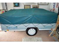 trailer tent folding camper.one owner