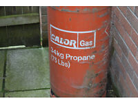 Calor Gas Empty 34Kg Propane Bottles X2