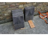 46 x old traditional roof slates