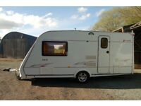 Elddis Avante 482 2 Berth touring caravan 2006 Reg with Motor Mover and all accessories