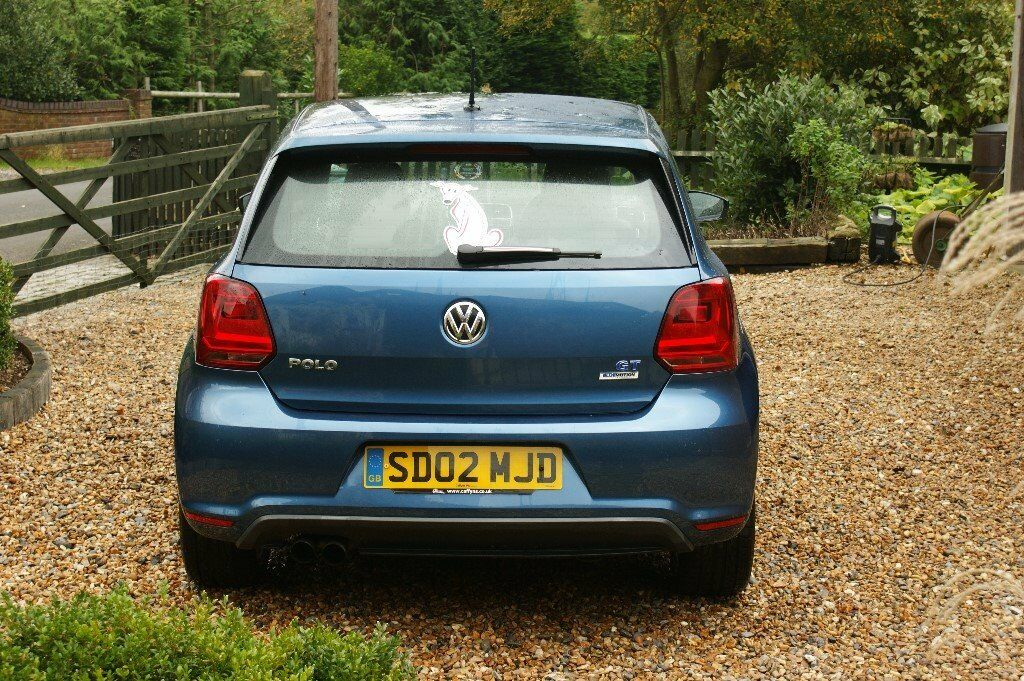 VW Polo 1.4 GT Bluemotion Act 2015 1 lady owner
