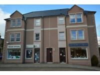 ** 2 bedroom top floor newly built flat Beauly, private parking on site **