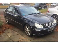 Mercedes Benz C class 1.8 Sport 4 door nice spec £2,900