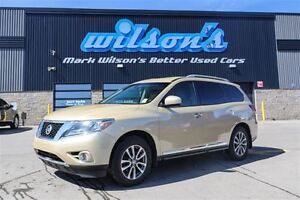 2013 Nissan Pathfinder SL 4WD LEATHER! 7-PASS! CAMERA! FRONT + R