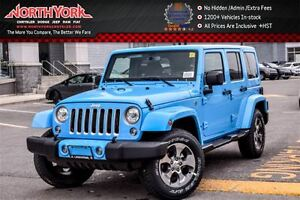 2017 Jeep WRANGLER UNLIMITED New Car Sahara 4x4|LED Pkg|Nav|Hard