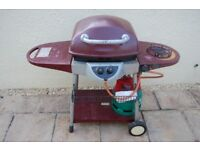 Barbecue, Full Gas Bottle and Cover - Reduced Price!