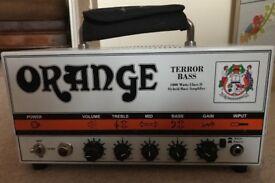 Orange 1000 Watt Terror Bass Amp