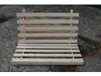 double futon frame / wooden sofa bed